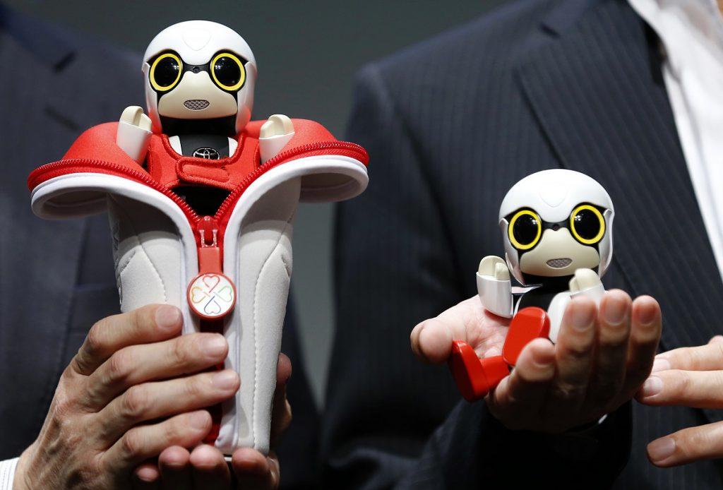 kirobo mini baby robot toyota
