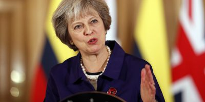 theresa may britain prime minister
