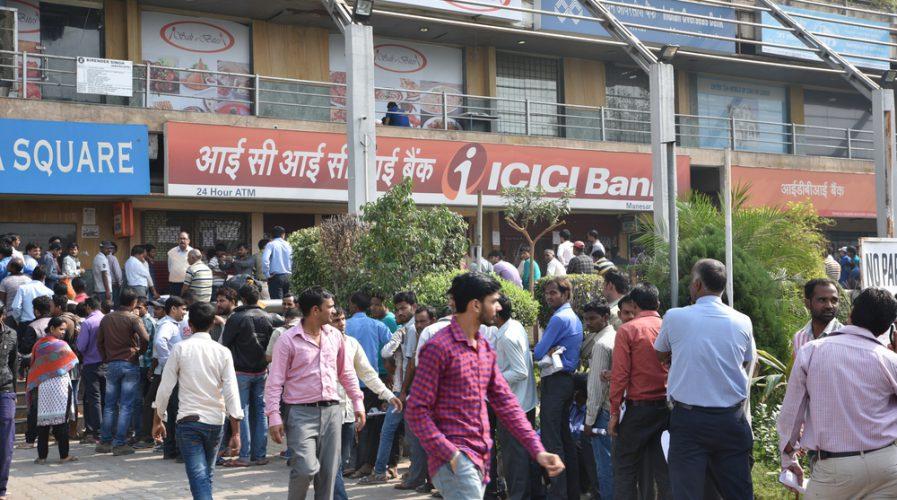 india queues banks finance