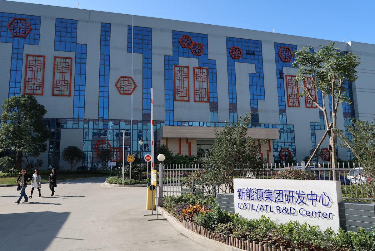 contemporary amperex technology ltd china