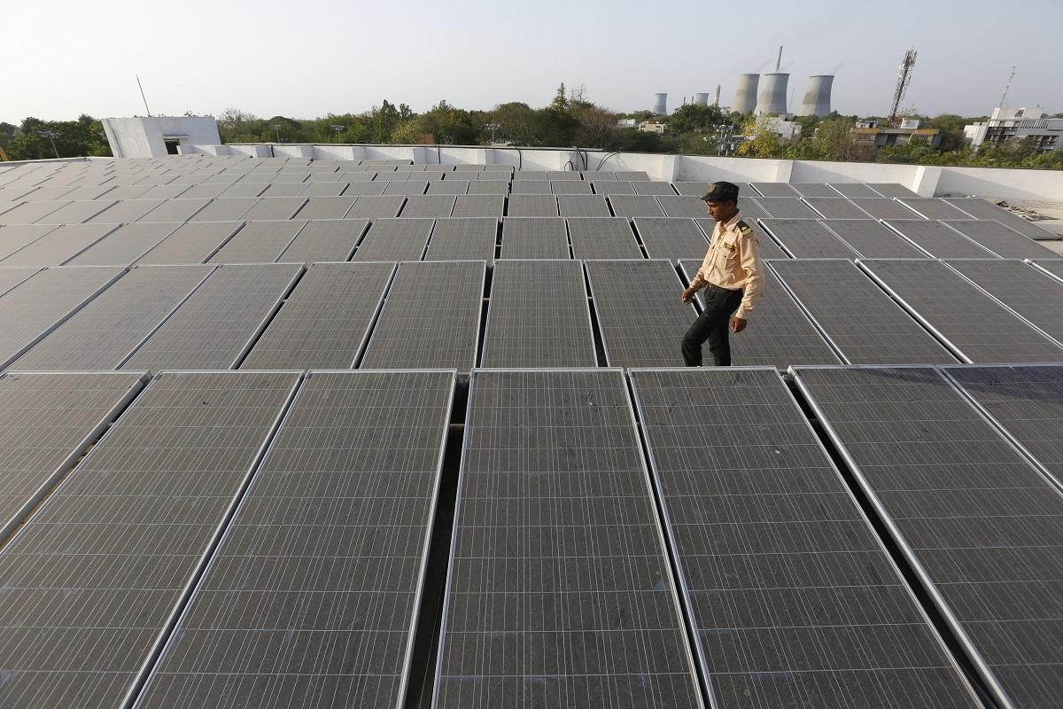 india solar rooftop plant energy