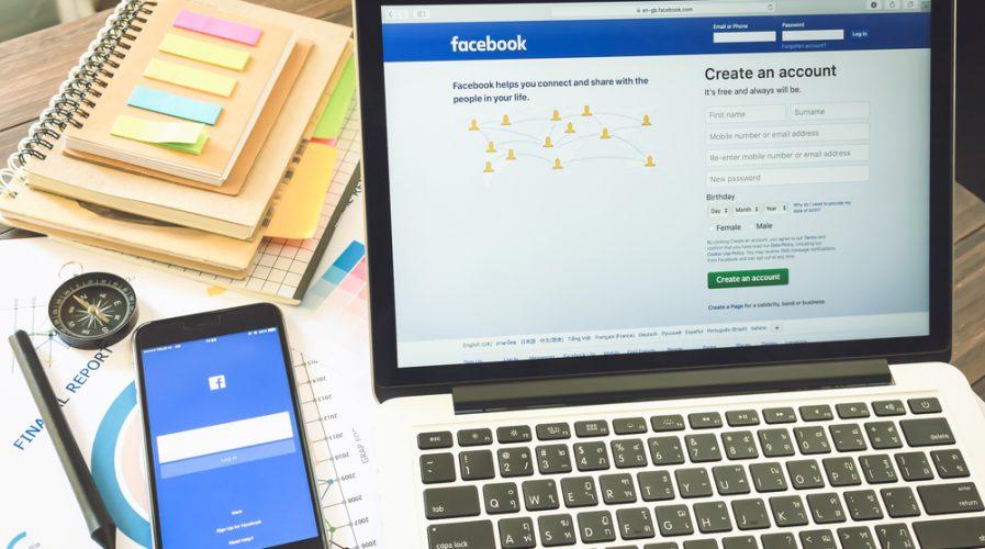 facebook laptop phone notebooks