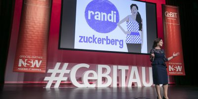 Randi Zuckerberg, CeBIT
