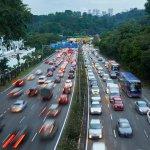 Kuala Lumpur, traffic jam