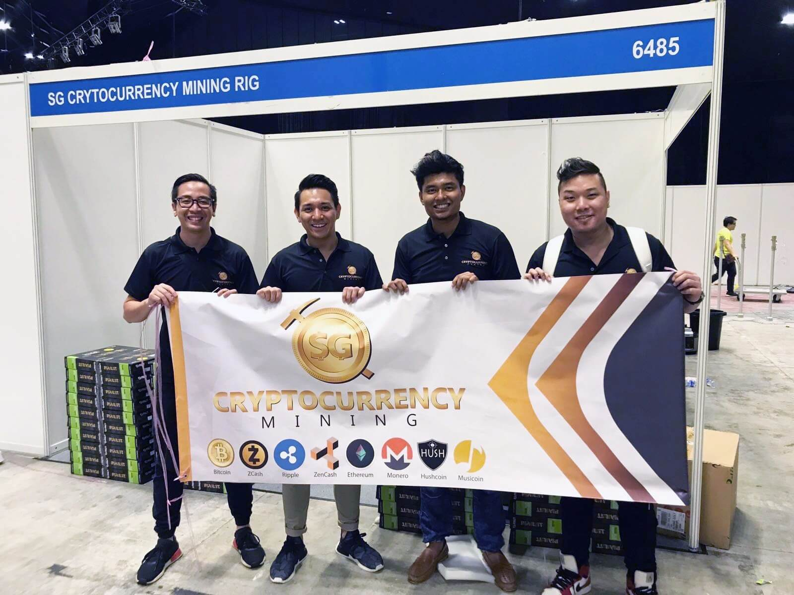 blockchain mining team
