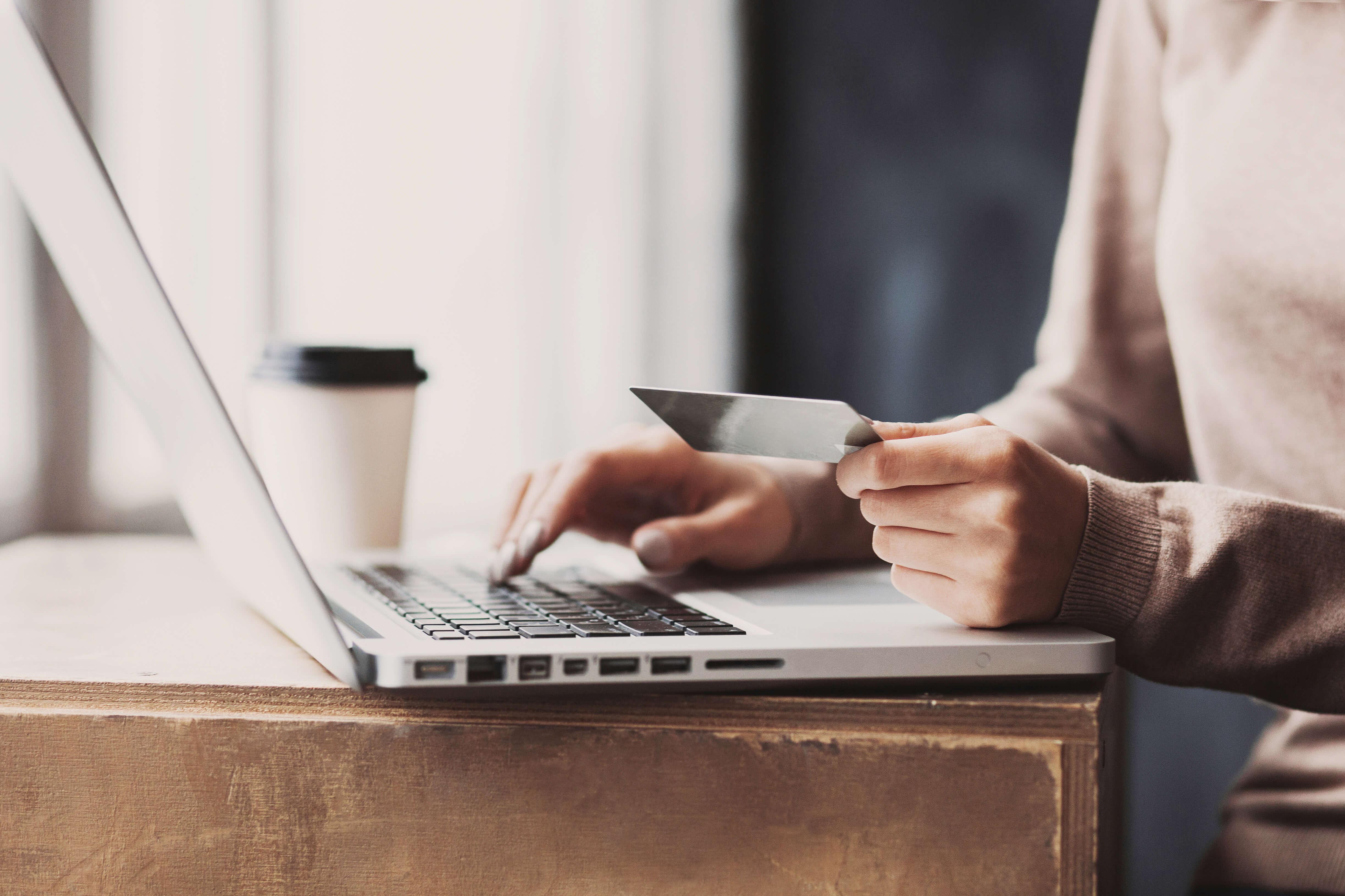 Online shopping, online banking