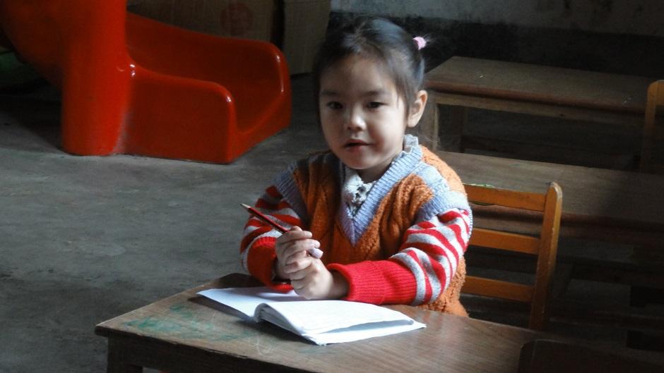 A schoolgirl in rural China. Pic: Flickr/Samuel Vigier