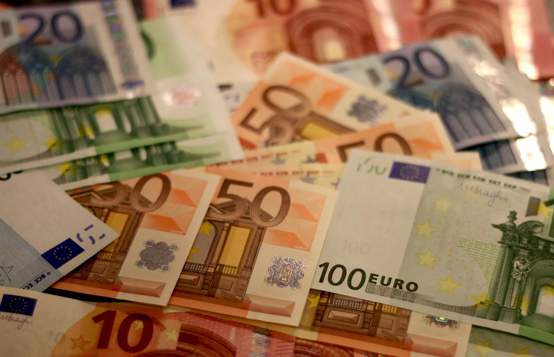 The euro is unified currency used by most of the European Union. Pic: Pixabay