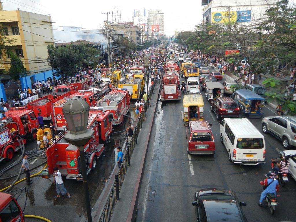 Metro Manila has the world's worst traffic, according to studies and surveys. Pic: Wikimedia Commons