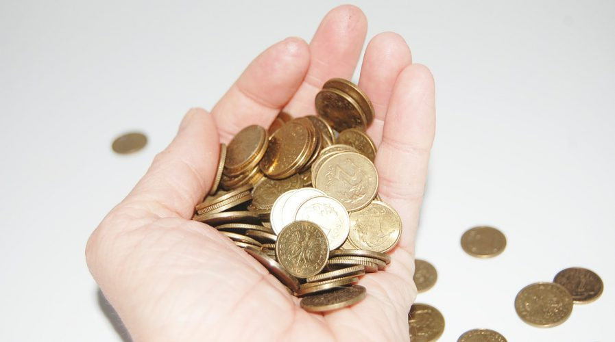 hand money coins