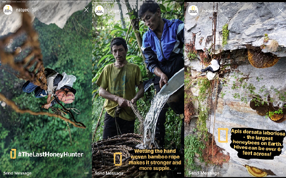 national geographic instagram stories