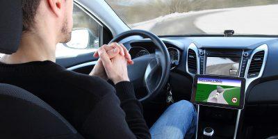 autonomous self driving car vehicle