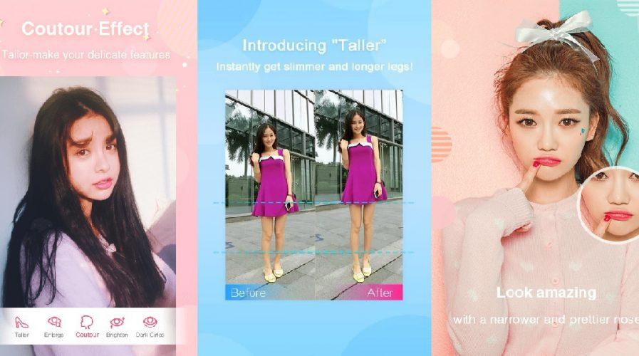 meitu beautycam selfie app