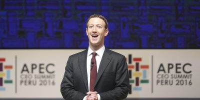 mark zuckerberg facebook asia pacific economic cooperation forum
