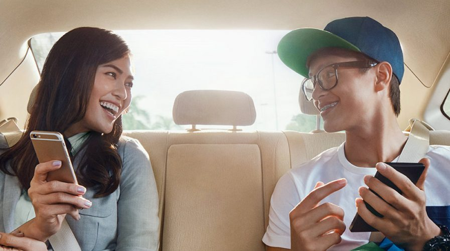 grab grabshare sharing carpool