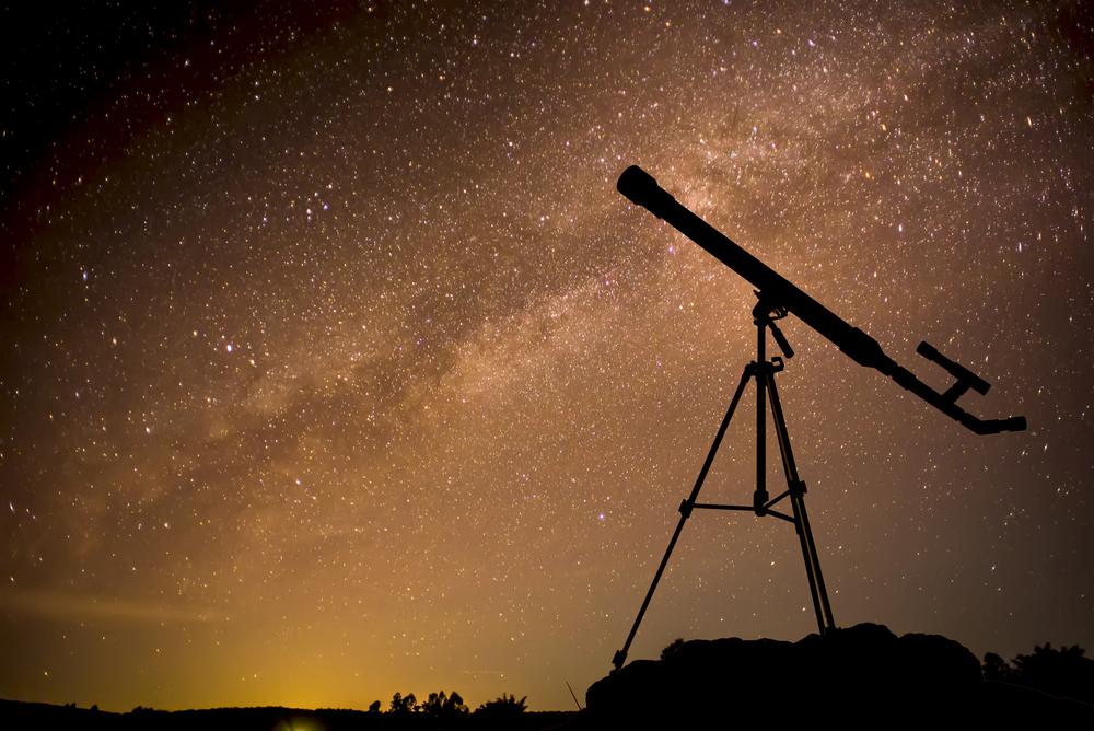 telescope stars milky way galaxy