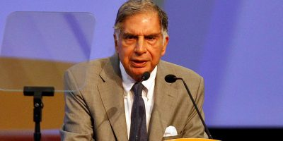 Ratan Tata, interim chairman at the Tata Sons