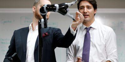 canada prime minister justin trudeau robotics
