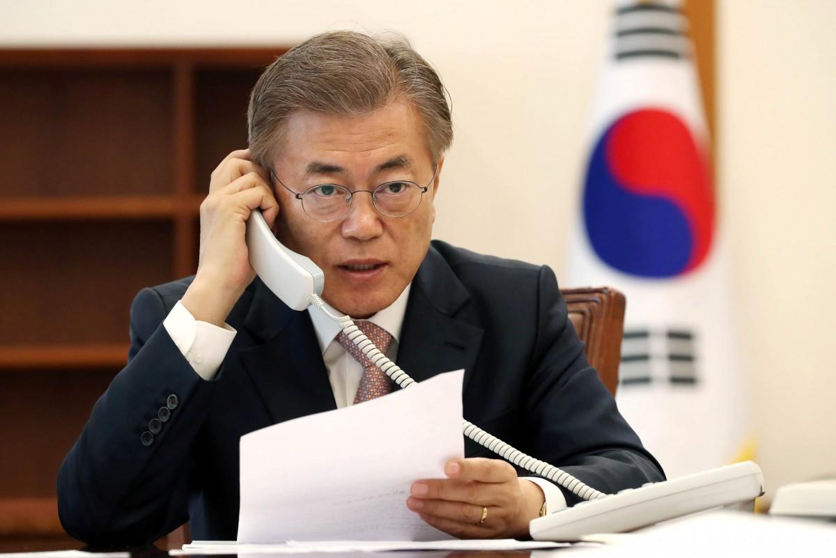 south korea president moon jae in