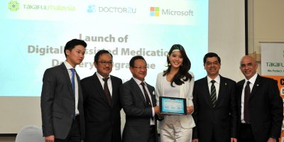 Takaful Malaysia, Doctor2U and Microsoft signs a joint partnership