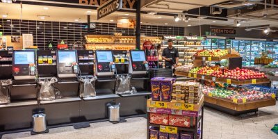 Australia uses a lot of tech — including self check out counters at supermarkets. All increasing the country's cyber risk quotient. Source: Shutterstock