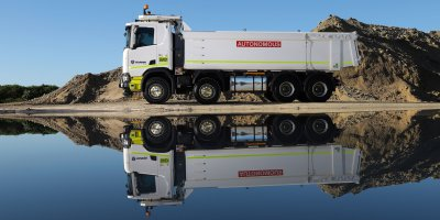 Autonomous trucking is gaining traction in Australia. Source: Scania