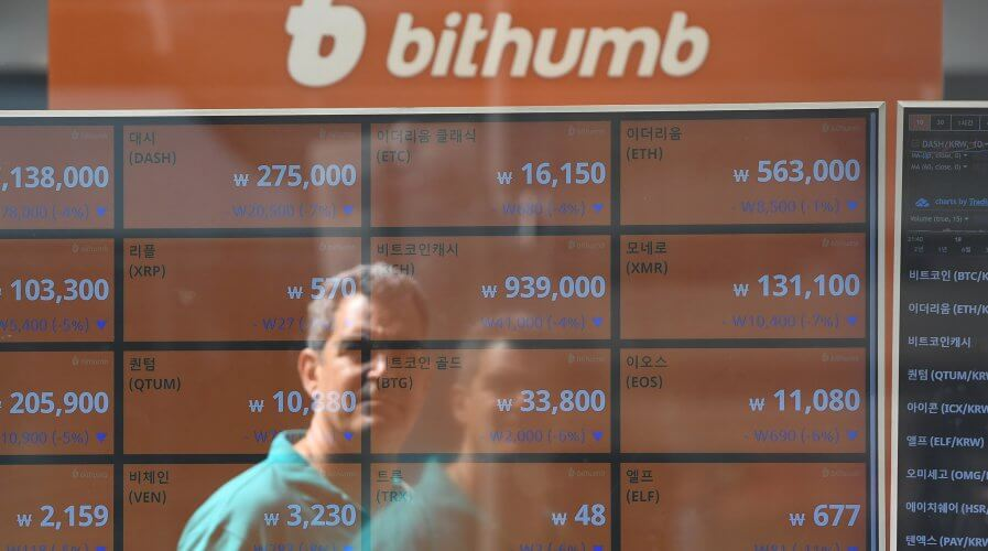 Failure to get buy-in form insurers are stalling the cryptocurrency industry in Asia. Source: Jung Yeon-je / AFP