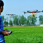 In agriculture, the biggest challenge that drone technology is going to overcome is the manpower shortage. Source: AFP