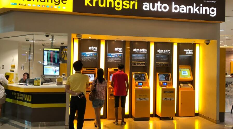 Bank of Ayudhya, or more popularly known as Krungsri has embarked on a digital journey in efforts to cater to younger generations of Thai. Source: Shutterstock