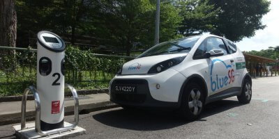 Autonomous and electric vehicles are gaining ground in Singapore. Source: Shutterstock