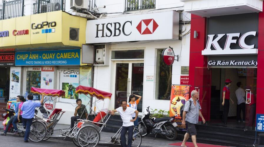 HSBC just open up its APIs to developers. Source: Shutterstock