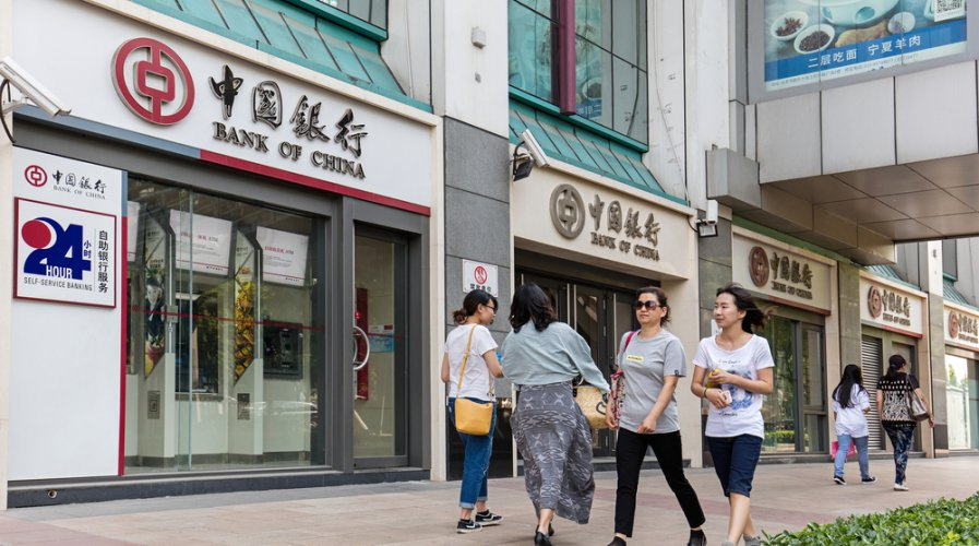 Not all of China's banks are finding it easy to move to the cloud. Source: Shutterstock