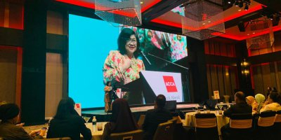 Digital disruption is on the mind of every finance professional. Source: Twitter / ACCA Malaysia