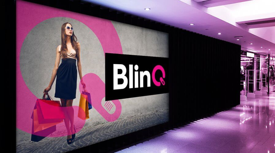 Luxury fashion retail platform BlinQ is deploying emerging technology to enhance customer experience. Source: BlinQ