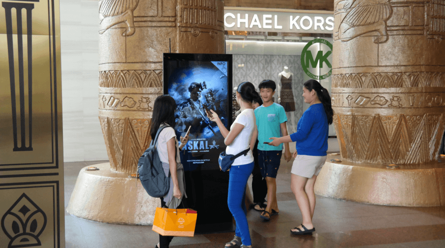 Here's how Sunway Pyramid and other malls in Malaysia benefit from new-age screens. Source: Lantern Media