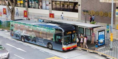 Singapore is trialing autonomous buses. Source: Shutterstock