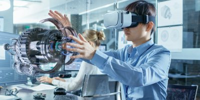 Businesses can leverage AR technology to introduce new tasks, challenges, and even exercises to their workers. Source: Shutterstock