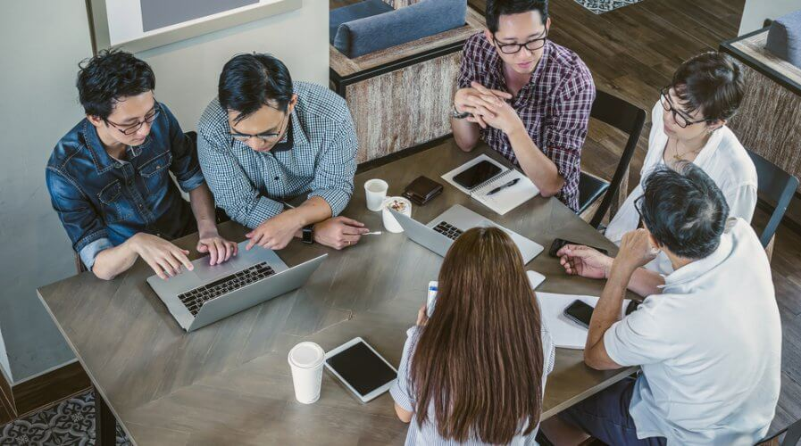 All digital transformation will start with the people behind the business and what they do.Source: Shutterstock