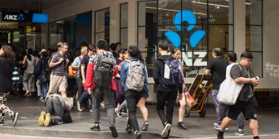 ANZ Bank recently went public about the LandMark White data breach that lead to the departure of the latter's CEO. Source: Shutterstock