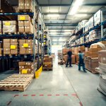 Hiccups on the warehouse floors will also impact the duration between the time of order and receipt. Source: Shutterstock