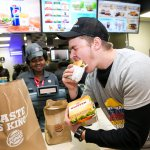 Burger King to deliver food to customers stuck in traffic jams. Source: Shutterstock