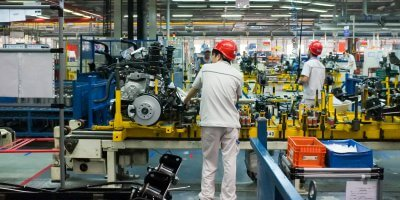 China set to maintain its competitive advantage in the manufacturing sector in the APAC region, thanks to its early adoption of IIoT technology. Source: Shutterstock