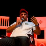 AirAsia CEO Tony Fernandes at RISE 2019 in Hong Kong. Source: Harry Murphy/RISE via Sportsfile