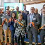 A snapshot from the launch of the Connected Cities program. Source: Facebook/City of Port Adelaide Enfield