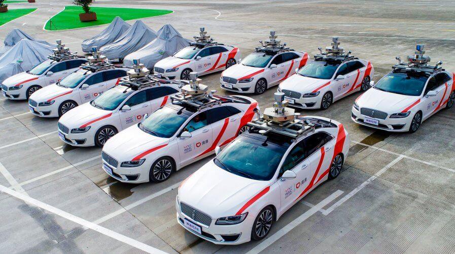 DiDi set to launch autonomous fleet of self-driving vehicles to public. Source: DiDi