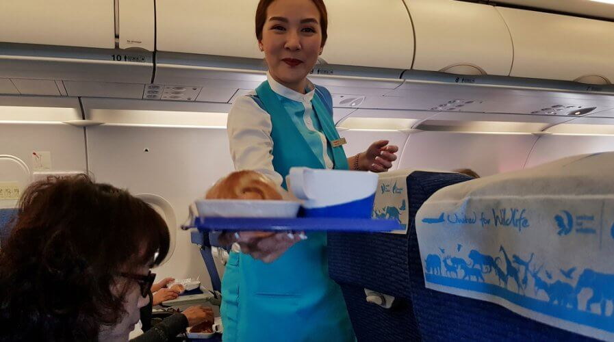 AI can help airlines improve the food they serve in-flight. Source: Shutterstock