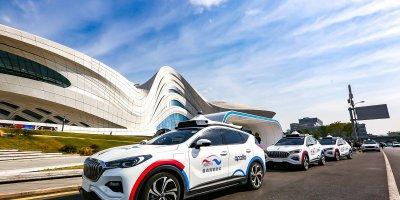 Baidu and FAW Group trail self-driving taxis in Hunan, China. Source: Baidu Inc