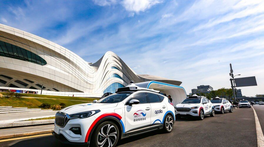 Baidu and FAW Group trail self-driving taxis in Hunan, China. Source: Baidu Inc