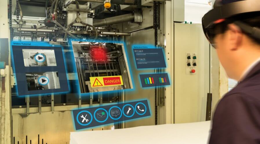 Here's why AR is key to training in manufacuring facilities. Source: Shutterstock