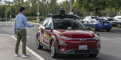 Hyundai, in collaboration with Pony.ai unveiled BotRide in California. Source: Hyundai
